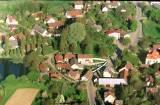 Letecký snímek - Dolní Hořice