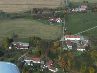 Letecký snímek - Radostovice