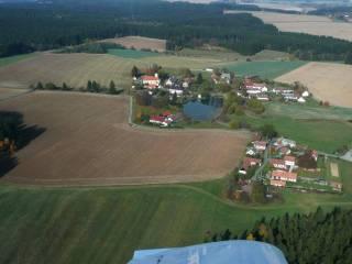 Letecký snímek - Hartvíkov