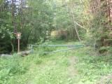Pacova hora - přístupová cesta